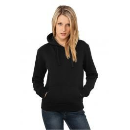Urban Classics Ladies Hoody Black - M / čierna