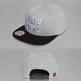 Just Rhyse New York Style Snapback Cap Grey - Uni