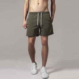 Urban Classics Block Swim Shorts olive/olive - 3XL