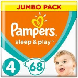 Pampers Sleep&play maxi 7-18kg 68ks