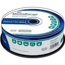 MediaRange DVD+R Dual Layer 8.5GB, 25ks