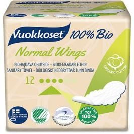 VUOKKOSET 100% BIO Normal Wings thin 12 ks